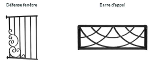 Defence fenetre et barriere d appuis